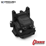 Vanquish Products Yeti Currie F9 Front Bulkhead Black Anodized