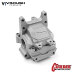 Vanquish Products Yeti Currie F9 Front Bulkhead Clear Anodized