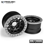 Vanquish Products Method 1.9 Race Wheel 105 Black/Silver Anodized