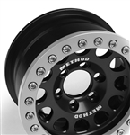 Vanquish Products Single Method 1.9 Race Wheel 105 Black/Silver Anodized (1)