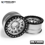 Vanquish Products Method 1.9 Race Wheel 105 Silver/Black Anodized
