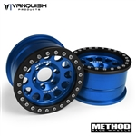 Vanquish Products Method 1.9 Race Wheel 105 Blue/Black Anodized