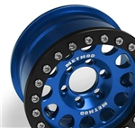 Vanquish Products Single Method 1.9 Race Wheel 105 Blue/Black Anodized (1)