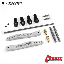 Vanquish Products Currie Antirock Yeti Sway Bar V2 Clear Anodized