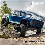 Vanquish Products VS4-10 Pro Kit Clear Anodized - Origin Halfcab