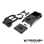 Vanquish Products VS4-10 Chassis Cross Braces w/ Dig Servo Mount