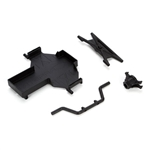 Vaterra Battery Tray & Spare Tire Mount: TWH