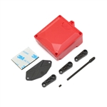 Vaterra Ascender Fuel Cell Receiver Box (Red) & Servo Arms