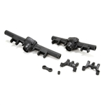 Vaterra Ascender Axle Housing & Link Mount Set FR/RR