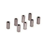 Vaterra Ascender Link Spacers, Aluminum, 3x6x12mm (8)