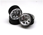 "Vaterra Ascender Wheel 8 Spoke 1.9"" Satin (4)"