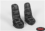 RC4WD Leather Seats for Tamiya 1/14 Scania (Black)