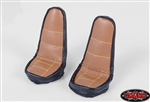 RC4WD Leather Seats for Tamiya 1/14 Scania (Brown)