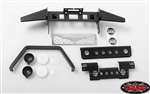 RC4WD Metal Front Bumper w/Stinger and Lights for Gelande II D90/D110