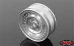 "RC4WD Cruiser 1.55"" Aluminum Wheels (Chrome)"