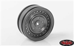 "RC4WD Cruiser 1.55"" Aluminum Wheels (Gun Metal) (4)"