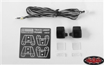 RC4WD Square Work Lights for Mercedes-Benz Arocs 3348 6x4 Tipper Truck