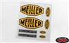 RC4WD Meiller Kipper Decal Set for Mercedes-Benz Arocs 3348 6x4 Tipper Truck