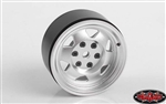 "RC4WD OEM XJ 1.9"" Beadlock Wheels (Chrome)"