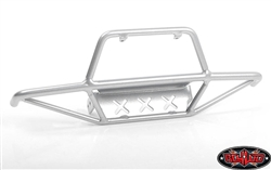 RC4WD Tri-X Steel Stinger Front Bumper for Vanquish VS4-10 Origin Body (Silver)