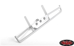 RC4WD Tri-X Steel Tube Rear Bumper for Vanquish VS4-10 Origin Body (Silver)