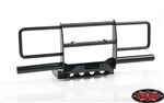 RC4WD Oxer Steel Front Winch Bumper for Vanquish VS4-10 Origin Body (Black)