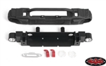 RC4WD OEM Narrow Front Winch Bumper with Trail Bar for Axial 1/10 SCX10 III Jeep JLU Wrangler