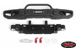 RC4WD OEM Wide Front Winch Bumper with Trail Bar for Axial 1/10 SCX10 III Jeep JLU Wrangler