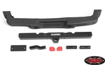 RC4WD OEM Rear Bumper with Tow Hook for Axial 1/10 SCX10 III Jeep JLU Wrangler