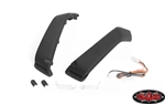 RC4WD Front Fender Flare Set with Lights and LED Lighting System for Axial 1/10 SCX 10 III Jeep JLU Wrangler