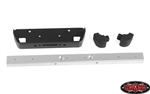 RC4WD Classic Front Winch Bumper for RC4WD Gelande II 2015 Land Rover Defender D90 (Silver)