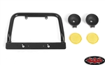 RC4WD Steel Push Bar Front Bumper with Flood Lights for RC4WD Gelande II 2015 Land Rover Defender D90 (Yellow)