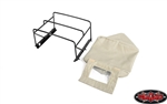 RC4WD Steel Tube Bed Cage with Soft Top for RC4WD Gelande II 2015 Land Rover Defender D90 (Pick-Up) (Tan)