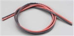 W.S. Deans Wet Noodle 16AWG Wire Red 3'/Black 3'