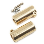 Yeah Racing Brass Rear Axle Lock Out For Axial SCX10 II (2)