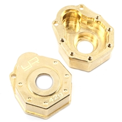 Yeah Racing Brass Front or Rear Portal Cover 42g 2 pcs - TRX-4