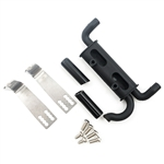 Yeah Racing Metal Exhaust Pipe (Black) TRX-4