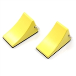Yeah Racing 1/10 RC Rock Crawler Accessory Wheel Chocks (2)