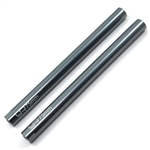 Yeah Racing Threaded Aluminum Link Pipe 6X75mm (2pcs) Gunmetal