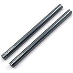 Yeah Racing Threaded Aluminum Link Pipe 6X90mm (2pcs) Gunmetal