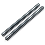 Yeah Racing Threaded Aluminum Link Pipe 6X95mm (2pcs) Gunmetal