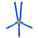 Yeah Racing Scale Accessory Safety Belt Blue For 1/10 RC Crawler