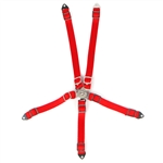 Yeah Racing Scale Accessory Safety Belt Red For 1/10 RC Crawler