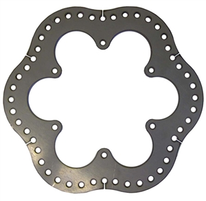 XXX 600 Micro Sprint Rear Brake Rotor.  Steel.  Ultralight.