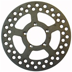 Keizer 600 Micro Sprint Front Brake Rotor.  Steel.  Ultralight.