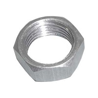 "7/16"" Aluminum Jam Nut.  Right Hand."