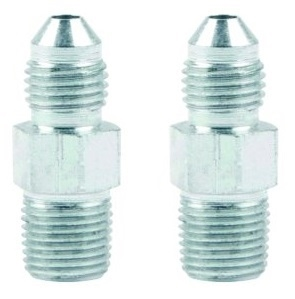 Adapter Straight 3 AN Male to 1/8 in NPT. Steel.