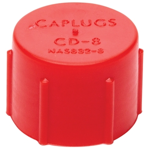 3AN and 3//8-24 Thread Pack of 20 Allstar ALL50801 Red Plastic Fitting Cap for