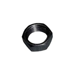 10-32 Aluminum Jam Nut.  Right Hand.  Black.