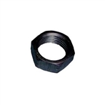 10-32 Aluminum Jam Nut.  Left Hand.  Black.